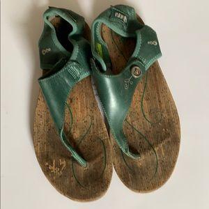 AHNU sandals